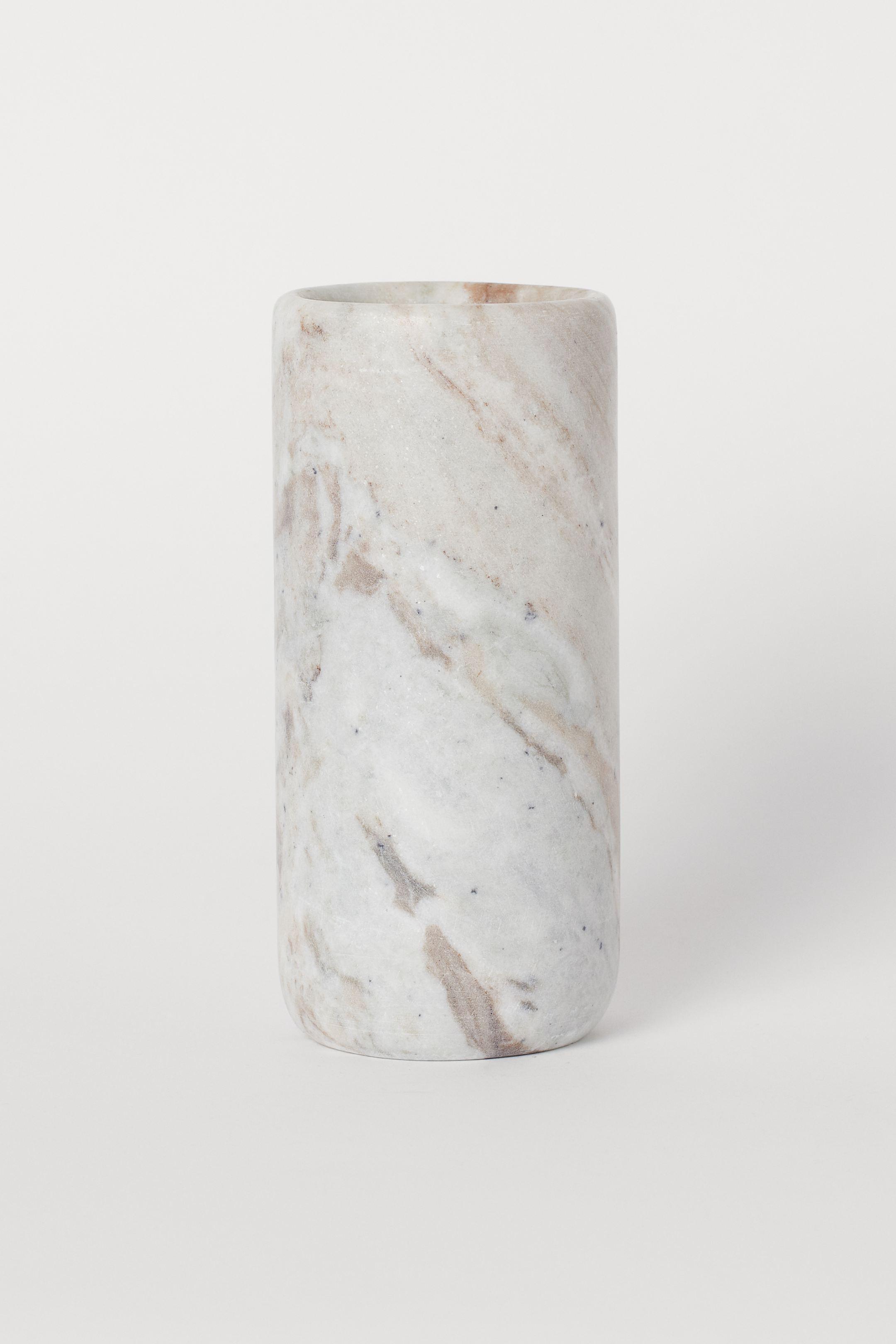 Jarrón de mármol