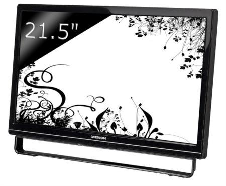 Medion MD20125, pantalla táctil de 21.5 pulgadas por 250 euros