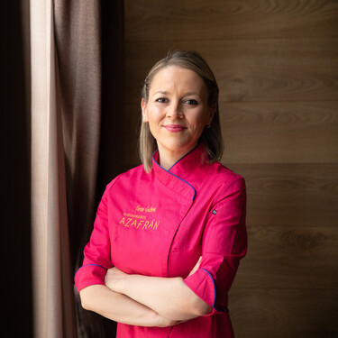 Así es Azafrán, el restaurante de una Top Chef en Villarobledo (Albacete) en el que todo el personal es femenino