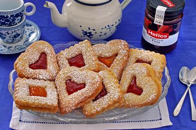 Receta de galletas con mermelada
