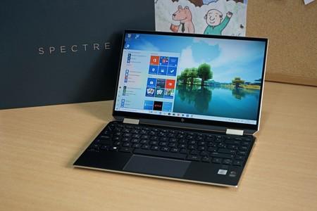HP Spectre X360 13, análisis: acabado premium y batería en un formato más compacto