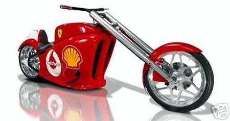 Chopper del Ferrari F1 Team