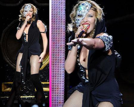 Kylie Minogue triunfa en el MTV Day 2009 de Madrid