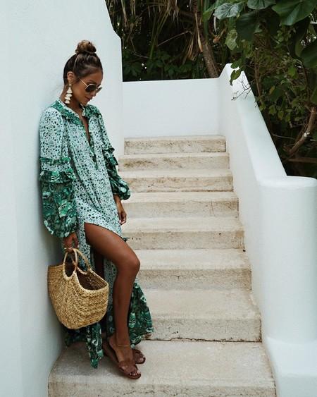 13 vestidos para la playa que son tendencia este verano 2019