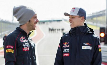 Toro Rosso anuncia a sus pilotos para las pruebas de Baréin