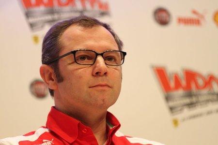 Stefano Domenicali reconoce que no está contento con el Ferrari F2012