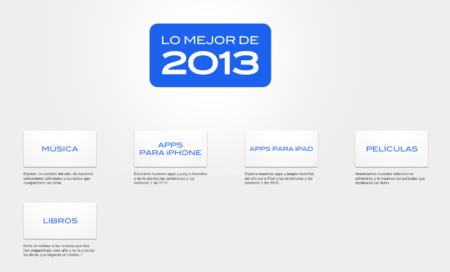 Apple publica su selección de las mejores canciones, películas, aplicaciones y libros del 2013