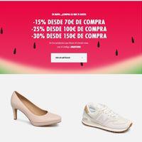 Rebajas de hasta el 30% en calzado gracias a un cupón de descuento en Sarenza