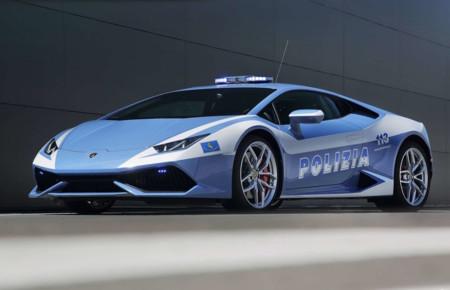 Lamborghini Huracan Lp610 4 Polizia 2015 Hd