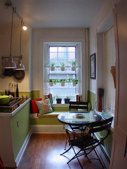 Una buena idea: un jardín en la ventana