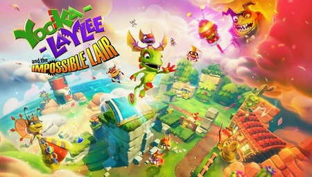Yooka-Laylee and the Impossible Lair intentará distanciarse de su entrega original en octubre