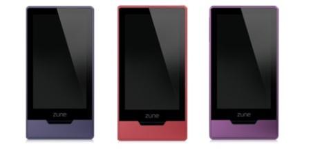 Zune HD se disfraza con tres nuevos colores
