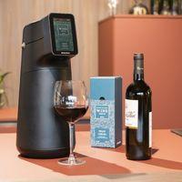 Este dispensador de vino promete servirlo a la temperatura adecuada y conservarlo mejor que en la botella