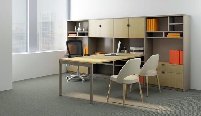 Oficinas Modernas Con Knoll1