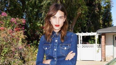 La colección de Alexa Chung para AG Jeans la tienes enterita en Mango