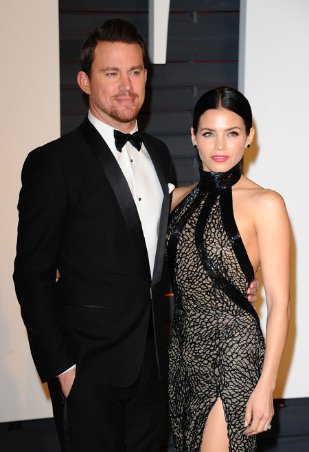 Channing Tatum y señora