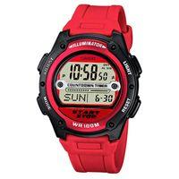 63% de descuento en el Reloj deportivo Casio W-756-4A. Ahora sólo 16,83 euros en Amazon