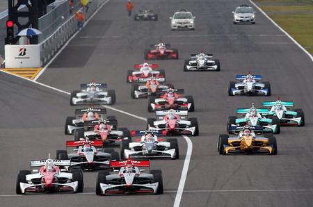 Salida Suzuka Fórmula Nippon 2012 Final
