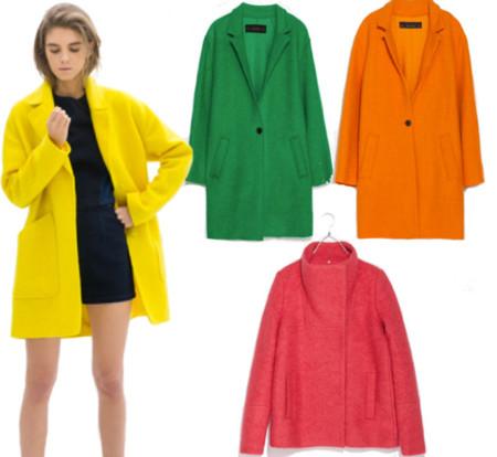 abrigo color zara primavera-verano 2014