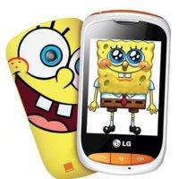 LG Cookie Style T310 edición Bob Esponja, la telefonía llega a Fondo Bikini de la mano de Orange