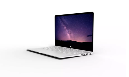 El nuevo computador portátil de LG promete hasta 21 horas de batería