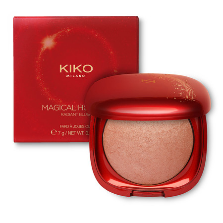 Colorete cocido con acabado luminoso  Magical Holiday Radiant Blush