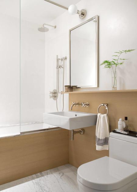 Trucos para que el cuarto de baño parezca más grande y elegante sin ...