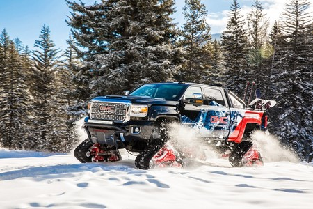 GMC Sierra 2500HD All Mountain concept