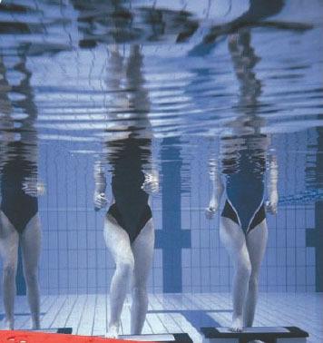 Aquastep, un deporte pasado por agua