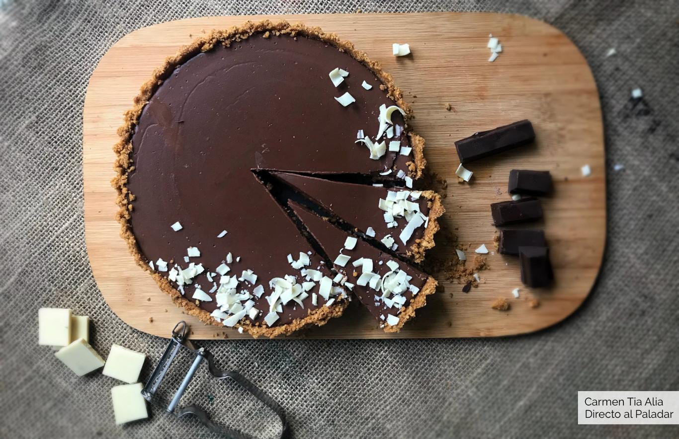 Receta De Tarta De Chocolate Fácil Y Rápida Lista En 15 Minutos Con Vídeo Incluido