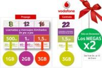 Vodafone yu: dobla los megas de sus tarifas en Navidad