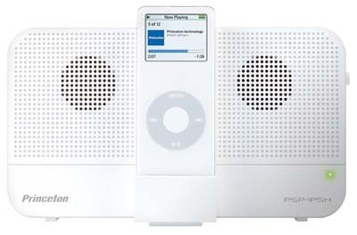 Altavoces compatibles con iPod Nano y Shuffle