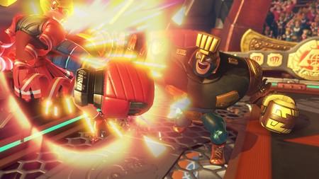 Así combate Max Brass, el nuevo personaje de ARMS, en un nuevo tráiler