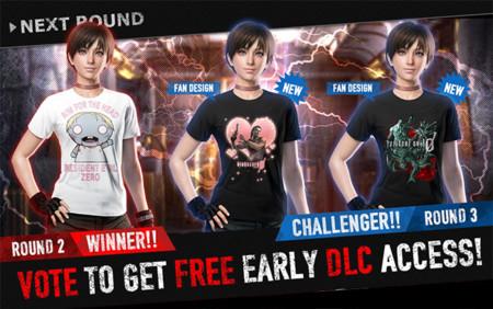 Se revelan los tres diseños ganadores del concurso Game T-Shirt Contest de Resident Evil 0