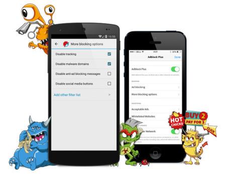 Adblock Browser sale de beta con su primera versión estable, ya disponible en iOS y Android