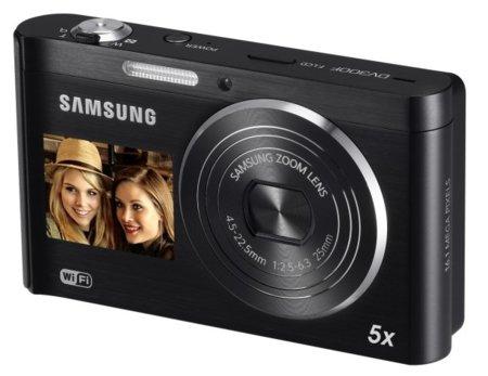 Samsung DV300F, una compacta con conectividad Wi-Fi y doble pantalla