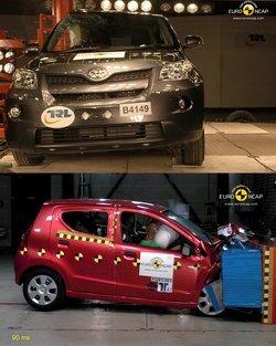 EuroNCAP - Lo peor de 2009