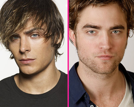 Zac Efron Vs Robert Pattinson