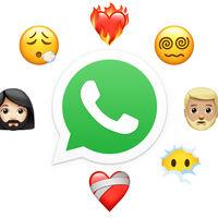 WhatsApp Beta para Android añade 24 emojis: mujer con barba, corazón en llamas, ojos en espiral y más