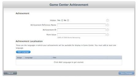 Game Center se acerca: los desarrolladores ya pueden crear sus logros y rankings