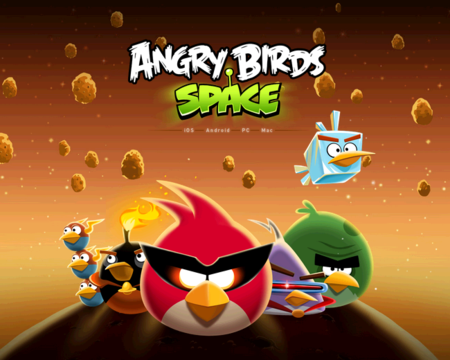 Angry Birds Space llega a Android