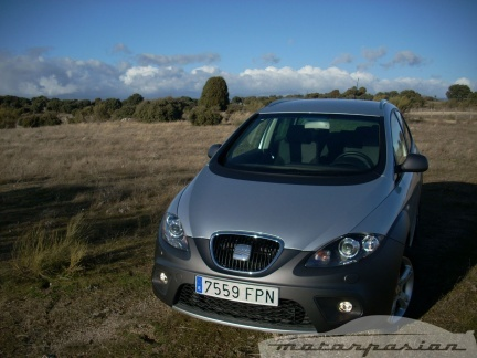Tricomparativa: Citroën C-Crosser, Opel Antara y SEAT Altea Freetrack (parte 3)