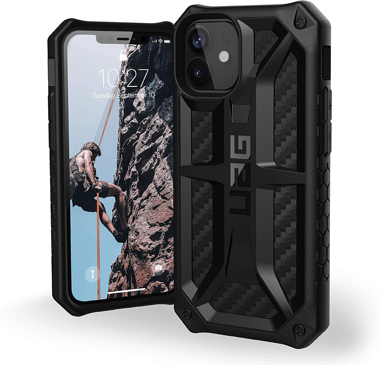 """Urban Armor Gear Monarch Funda Apple iPhone 12 Mini (5,4"""") [Protección de 5 Capas el estándar Militar, Compatible Carga inalámbrica, Resistente a los choques]"""