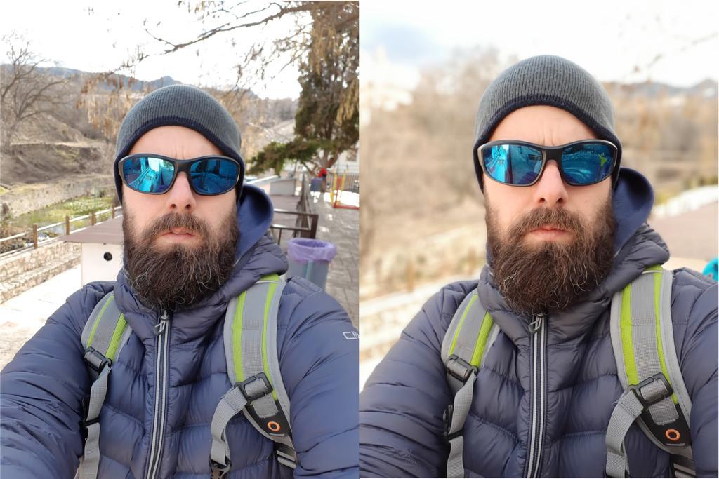 Selfie Desenfoque