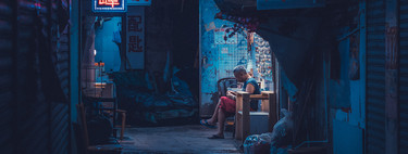 Sean Foley portrays the nightlife of Hong Kong streets with an 80s aesthetic