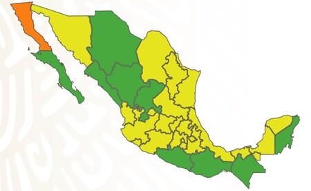 Casi una tercera parte de México queda en semáforo verde por COVID: ya solo hay un estado en nivel alto de riesgo de contagio