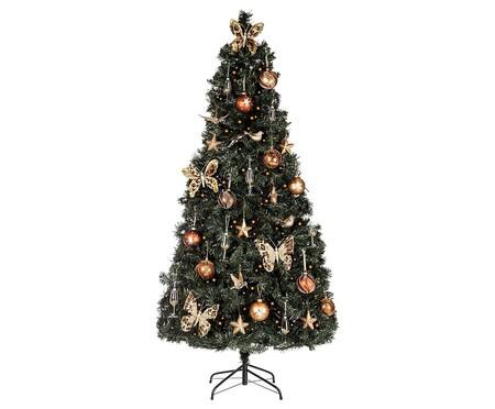 Set de árbol de Navidad y decoración