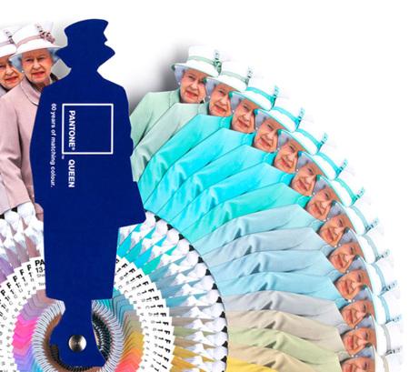 Pantone Queen con todos los colores de los vestidos de la reina Isabel II para celebrar el Jubileo de Diamante