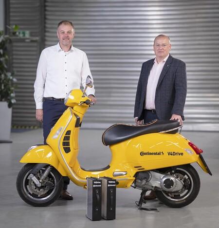 Varta y Continental trabajan juntos para ofrecer las baterías reemplazables del futuro de las motos eléctricas