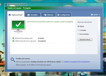 Microsoft ofrece Security Essentials mediante Windows Update, las empresas de antivirus reclaman